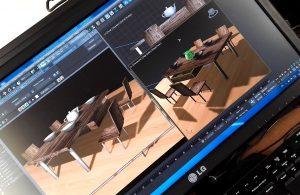 création simple sur 3Ds-Max deux