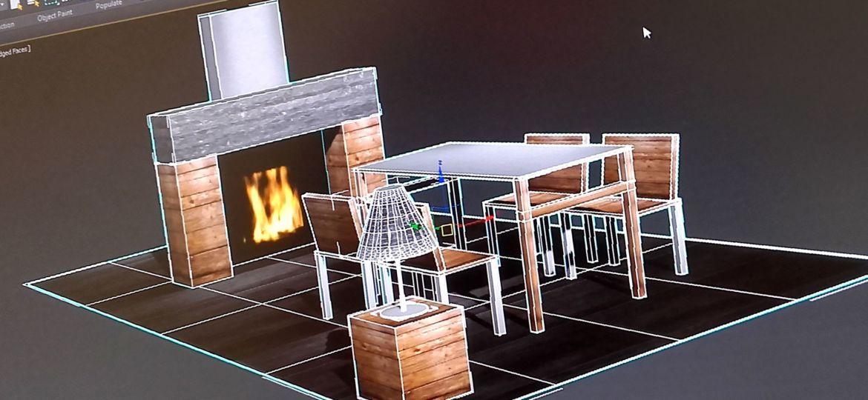 création simple sur 3Ds-Max