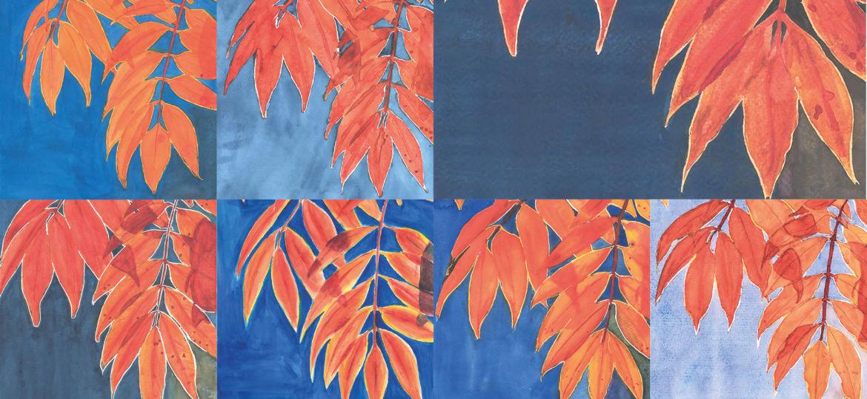 feuilles-aquarelle